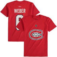 Shea Weber Montreal Canadiens Reebok Youth Name & Number T-Shirt - Red Hockey Girls, Hockey Mom, Ice Hockey, Shea Weber, Sports Fanatics, Football Trading Cards, Pittsburgh Penguins Hockey, Jonathan Toews, Amigurumi
