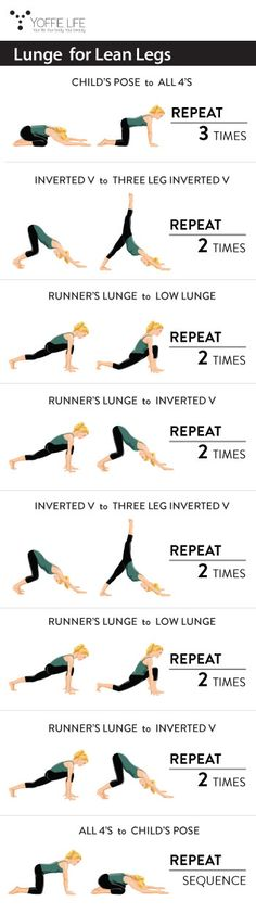 Lunge for Lean Legs #lunge #legs #workout #exercise #fit #healthy #healthyliving