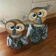 Wood owls