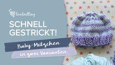 Bei LoveKnitting haben wir eine Vorliebe für süße Anleitungen für Babys, die sich immer schnell stricken lassen und viel Freude beim Verschenken bereiten.