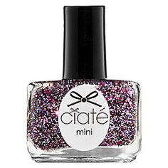 Ciaté Mini Paint Pot Nail Polish and Effects Ciaté Mini Paint Pot Nail Polish and Effects in Fancy Pants - glitter with flecks of multi-tone pinks, lilac and silver with extra fine black glitterMistress - classic pillar box red #sephora