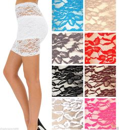 Sexy Black Sheer lace See Thru Style Stretch on Mini Skirt Halloween Party Skirt #musa #Mini