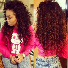 Stupendous Curly Perm Locks And Hair On Pinterest Short Hairstyles Gunalazisus