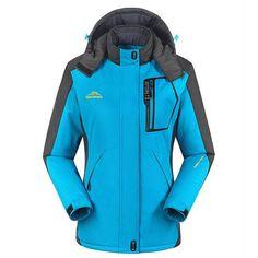 e026d1e8b9 Women Winter Ski Snow Warm Windproof Outdoor Sports Jacket Coat Thicken Coat  Pop Tactical Jacket