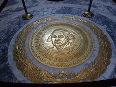 It's the magnificent Washington State Seal! — at Washington State Capitol.