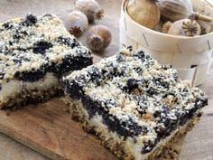 Tvaroho-makový koláč bez mouky Healthy Deserts, Healthy Dessert Recipes, Sweet Desserts, Sweet Recipes, Gluten Free Cakes, Gluten Free Baking, Biscuit Sandwich, Czech Recipes, Chocolate Biscuits
