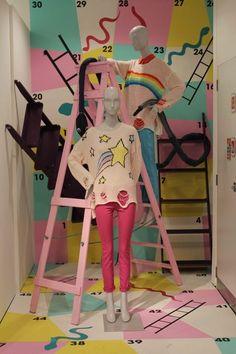 Selfridges: Snakes and Ladders Visual Merchandising Displays, Visual Display, Display Design, Store Design, Design Boutique, Store Window Displays, Retail Displays, Fashion Displays, Kids Clothes Patterns