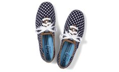 Damn, these Keds Champion Dot tennies are adorable.