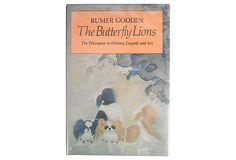 Butterfly Lions: Pekingese on OneKingsLane.com Pekingese, Lions, Butterfly, History, Art, Lion, Kunst, Bowties, History Books