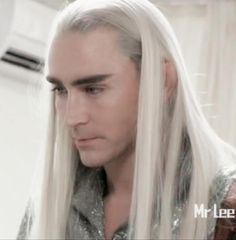 Thranduil Lee Pace BOTFA EE Behind the scenes