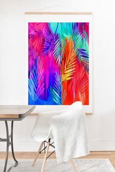 Holly Sharpe Tropical Heat 01 Art Print And Hanger | DENY Designs Home Accessories