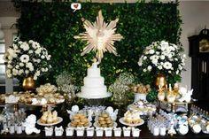 batizado, anjos, mesa linda, decoração de festa