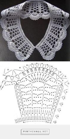 Peter Pan Crochet Collar – Free Pattern ~~ Cuellos a Crochet – Patron Gratis | Hecho a Mano por Maricruz Pacheco Barrios ~~
