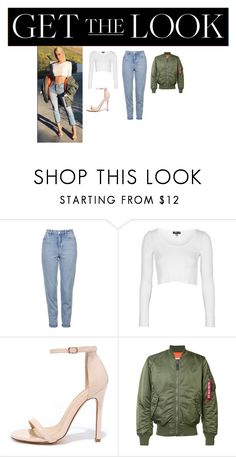 """""""Grenade"""" by mckenziejenner ❤ liked on Polyvore featuring Topshop, Liliana and Alpha Industries"""