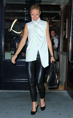 Opposites Attract: Week of May 13, 2013 -  WHO: Gwyneth Paltrow WHERE: Outside Lafayette restaurant, New York City WHEN: May 8, 2013
