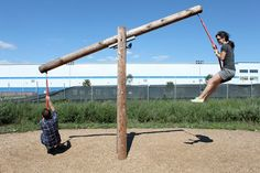 How to Dig a Hole: East River Park SeeSaw