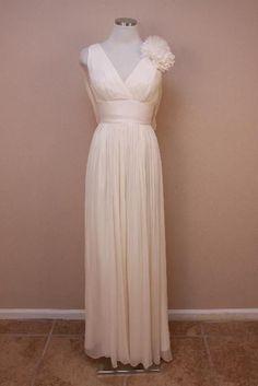 Www S Ebay The Paisley Petunia 895 J Crew Marlowe Wedding Gown 0 Ivory Long Dress Party Formal Jcrew Asymmetricalhem