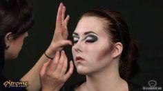 Vampire Makeup How-to, Classic Vampiress Halloween Makeup Tutorial