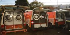 Photo credit: Orange Sky Laundry Facebook page - mobile laundry service for the homeless