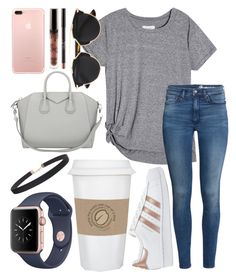 """""""Take me to LA"""" by jadenriley21 on Polyvore featuring Givenchy, WALL, adidas Originals, H&M, Christian Dior and Humble Chic"""