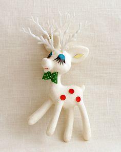 kitschy reindeer