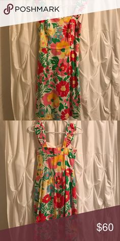 Lilly Pulitzer Dress Size 0 Worn once during rush! Practically brand new. Lilly Pulitzer Dresses