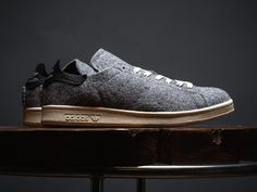 timeless design b959c 19bf0 adidas Originals Stan Smith PC Wool