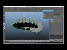Gear Model and Animation Script for Maya - Free Animation Scripts / Plugins Downloads for Maya