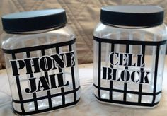 Phone Jail or Cell Block Plastic SHATTERPROOF ~ Great for Family time, in the Classroom, in Church or Dinner time