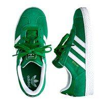 boys' Adidas sneakers in kelly green