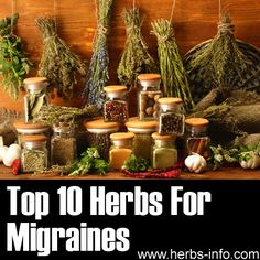 ❤ Top 10 Herbs For Migraines http://MigraEase.com #migraine #headache #natural