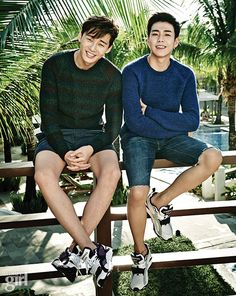 Park Seo Joon and Lee Hyun Woo - Vogue Girl Magazine January Issue '15