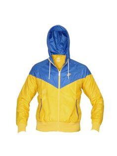Nike Men Windrunner Yellow Jacket