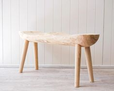 Rustic Stool - Timber Natural Double - Shiloh - 98x24x45 – Little Sunshine Noosa Rustic Wooden Bench, Rustic Stools, Nature Decor, Good Job, Natural Materials, Home And Living, Accent Chairs, Im Not Perfect, Cushions