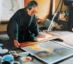Kayo Yamaguchi (山口 華楊 Yamaguchi Kayō?, 3 October 1899–16 March 1984) was a Japanese painter specializing in the Nihonga style of watercolour painting.
