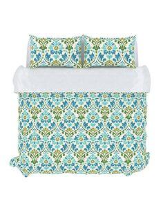 Colorfly Home: Duvet Set 'Sasha' in Seamoss. #duvet #homedecor #interiordesign #bedding #bedroom #colorflyhome