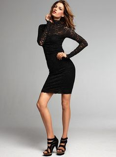 OK Ladies... Lace is again big this year... This dress is classy and very sexy with an open back. BTW it won't break you but you will break hearts in this dress.