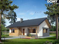 Projekt domu Atut - wizualizacja frontowa