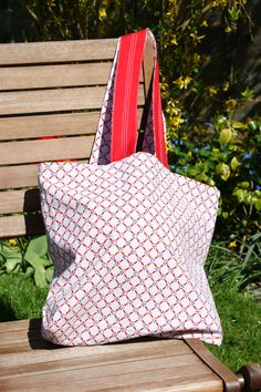 Handsewn reversable shopping bag which can be folded with a popper to fasten. Can come in a variety of retro materials not including P&P Hessian, Beautiful Hands, Decorating Your Home, Hand Sewing, Shopping Bag, Shabby Chic, Textiles, Throw Pillows, Retro