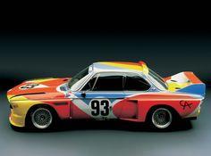 BMW Art Car: Alexander Calder, 1975 BMW 3.0 CSL