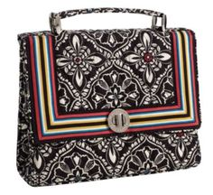 25af7de08fda Spotted while shopping on Poshmark  Vera Bradley Julia Turn Lock Bag -  Barcelona!