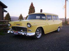 1955 Chevy 150 Handyman 2 door wagon - beautiful