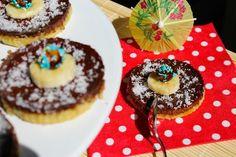 Flantelettes Banane, Chocolat & Coco