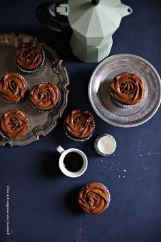 Chic & Gorgeous Treats: Earl Grey Dark Chocolate Cupcake