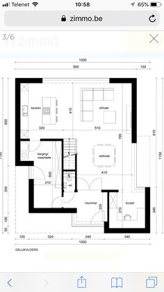 Ingrid Bogaerts's media statistics and analytics Home Design Floor Plans, House Floor Plans, Modern House Plans, Modern House Design, Im Coming Home, Plans Architecture, Arch Interior, Floor Layout, The Sims