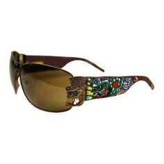 dee0d6aed0db2 Óculos Ed Hardy Crunk Rock Sunglasses in your choice of colors