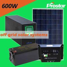 Prostar 600 watt off grid solar system