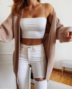 Trendy Summer Outfits, Cute Casual Outfits, Simple Outfits, Pretty Outfits, Stylish Outfits, Fall Outfits, Casual School Outfits, Girls Fashion Clothes, Teen Fashion Outfits