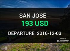 Flight from Toronto to San Jose by United #travel #ticket #flight #deals   BOOK NOW >>>