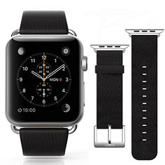 Kollea&USAMS Apple Watch Genuine Leather Band Strap With Adapter 42MM